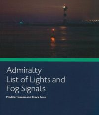 NP78 ADMIRALTY List of Lights and Fog Signals Volume E