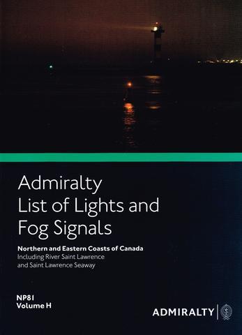 NP81 List of Lights & Fog Signals Vol H