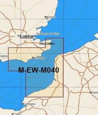 C-Map MAX Local Chart EW-M040 English Channel Eastern
