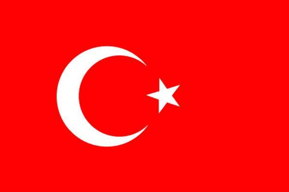 Turkey Flag 1.5 Yard