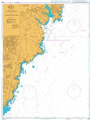 896 – Korea East Coast Ulsan Hang to Taebyon Hang
