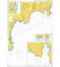 2246 – Cap d'Antibes to Cap Ferrat incl Baie des Anges & Rade de Villefranche