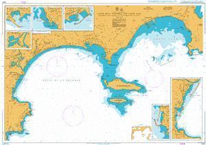2247 – Golfe de la Napoule and Golfe Juan inc. Iles de Lerins and the Approaches to Cannes