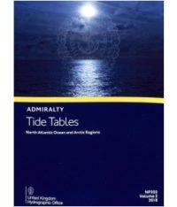 NP202 Tide Tables Vol. 2 2018