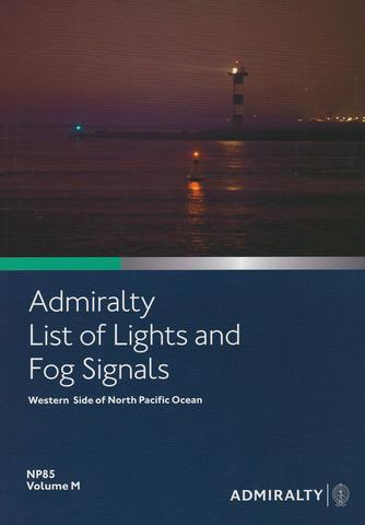 NP85 List of Lights & Fog Signals Vol M