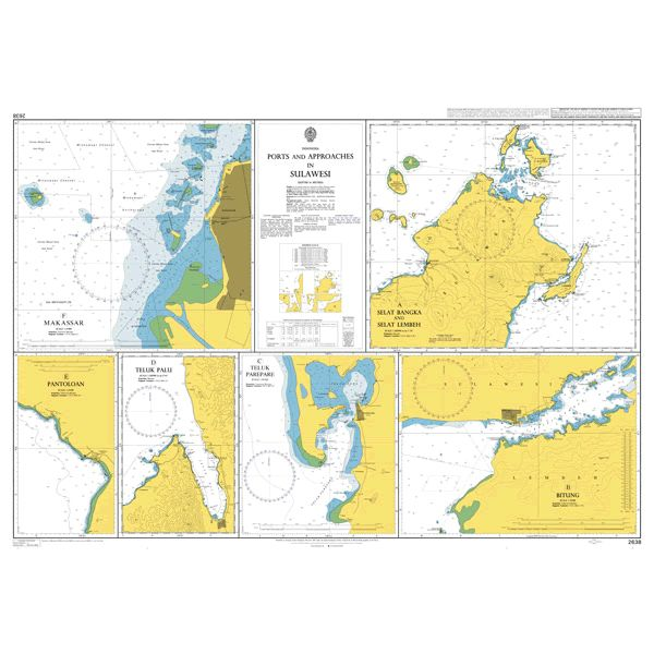 2638 – Indonesia Ports and Approaches in Sulawesi
