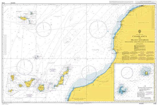 3133 – Casablanca to Islas Canarias (Including Arquipelago da Madeira)