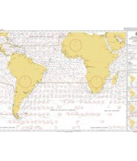 5125(8) – Routeing Chart South Atlantic Ocean – August