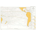 5128(1) – Routeing Chart South Pacific Ocean – January