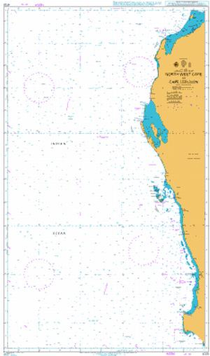 4725 – Australia West Coast North West Cape to Cape Leeuwin