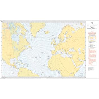 5375 – Magnetic Variation North Atlantic & Mediterranean