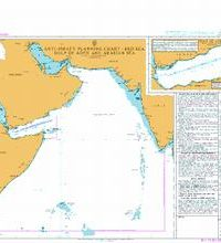 Q6099 – Anti-piracy Planning Chart Red Sea Gulf of Aden and Arabian Sea