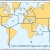 Admiralty Digital List of Lights Area 5 Red Sea the Gulf & Indian Ocean (Northern Part)