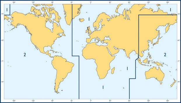 ADRS2 – Area 2 Americas Parts of Asia and Australasia
