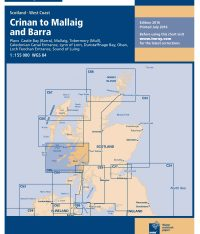 Imray C64 North Channel Belfast Lough to Lough Foyle and Crina