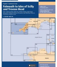 Imray C7 Falmouth to Isles of Scilly and Trevose Head
