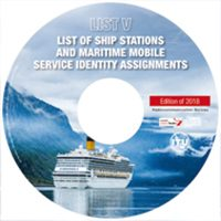 List V – List of Ship Stations & Maritime Mobile Service Identity Assignments 2018 Ed