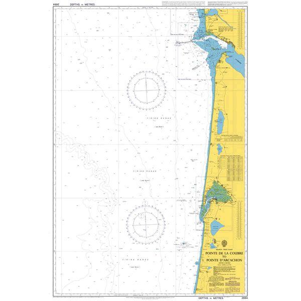 2664 – France West Coast Pointe de la Coubre to Pointe d'Arcachon