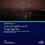 NP77 Admiralty List of Lights and Fog Signals Volume D