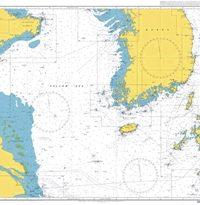 3480 – Yellow Sea and Korea Strait