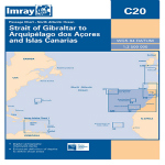 Imray Chart C20 Strait of Gibraltar to Arquipelago dos Acores and Islas Canaries