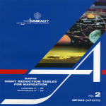 NP303 – Admiralty Rapid Sight Reduction Tables for Navigation Vol 2