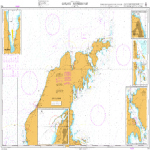 798-International Chart Series Sweden East Coast Gotland Northern Part