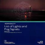 NP76 Admiralty List of Lights & Fog Signals Volume C