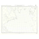 5095 – Gnomonic Planning Chart for Great Circle Sailing North Atlantic Ocean