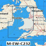 C-Map NT  Wide Chart EW-C232 Bristol Channel to Irish Sea