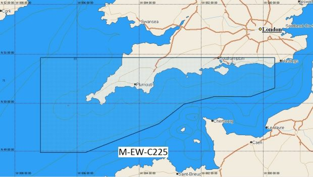 C-Map NT+  Wide Chart EW-C225 Western English Channel – Padstow to Eastbourne