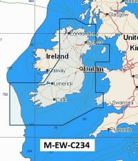 C-Map NT+  Wide Chart EW-C234 Bristol Channel East Ireland