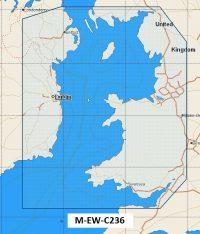 C-Map NT+  Wide Chart EW-C236 Bristol Channel to Irish Sea