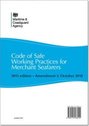 Code Of Safe Working Practices For Merchant Seafarers – Amendment 3