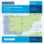 Imray Chart C19 A Coruna to Gilbraltar