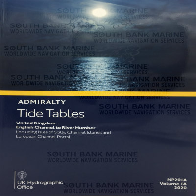 Admiralty Tide Table NP201A 2020 Edition