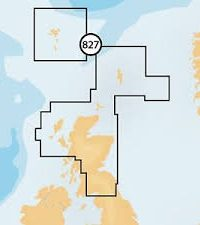 Navionics + Small Chart 827 Scotland North and East, Faroe Islands