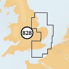 Navionics + Small Chart 828 Littlehampton to Scarborough
