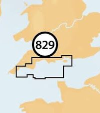 Navionics + Small Chart 829 Falmouth to Chichester