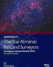 NP321 Star Almanac for Land Surveyors 2021