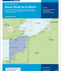 Imray Chart C31 Dover Strait to Le Havre