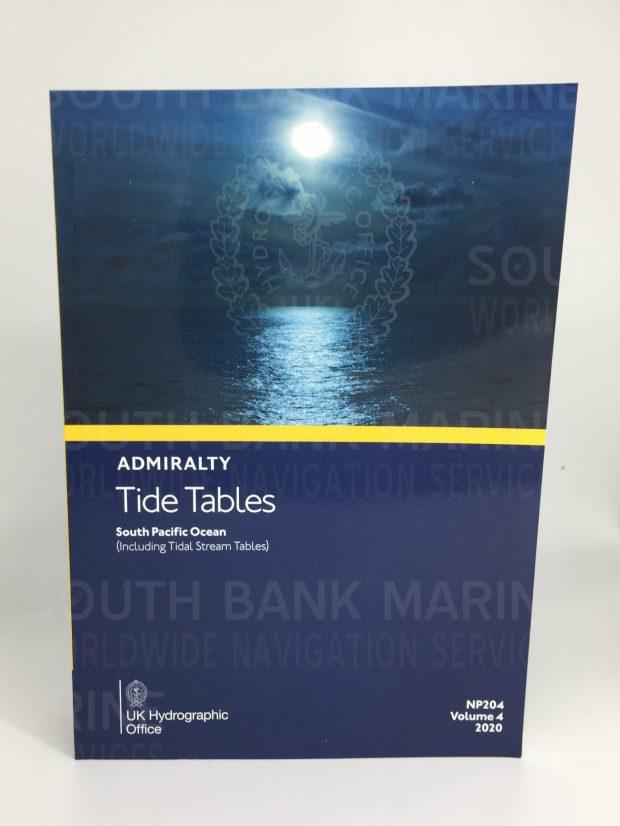 NP204 Tide Tables Vol. 4 2020