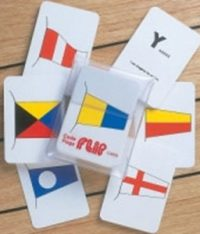 International Code Flags Flip Cards