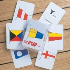International Code Flags Flip Cards