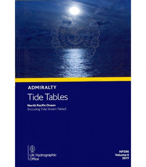 NP206 Tide Tables Vol. 6 2020