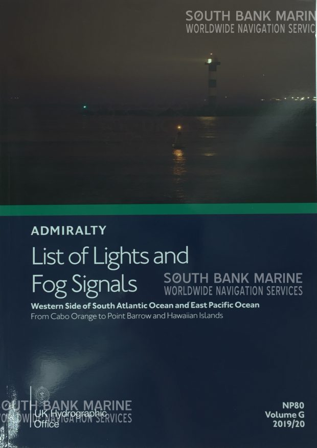 NP80 List of Lights & Fog Signals Vol G