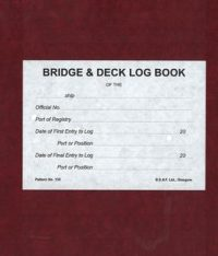 Bridge & Deck Log Book
