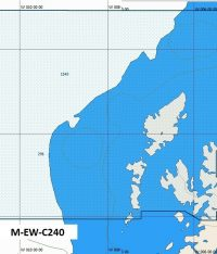 C-Map NT+ Wide Chart EW-C240 Sound Of Barra To Kyle Of Tongue