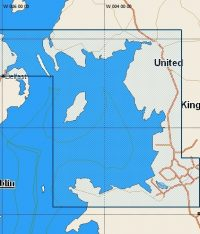 C-Map Local Chart Irish Sea