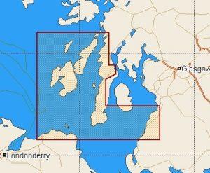 C-Map Local Chart Scotland: North West Coasts